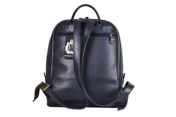 Кожаный рюкзак Viato Blue ф. 4