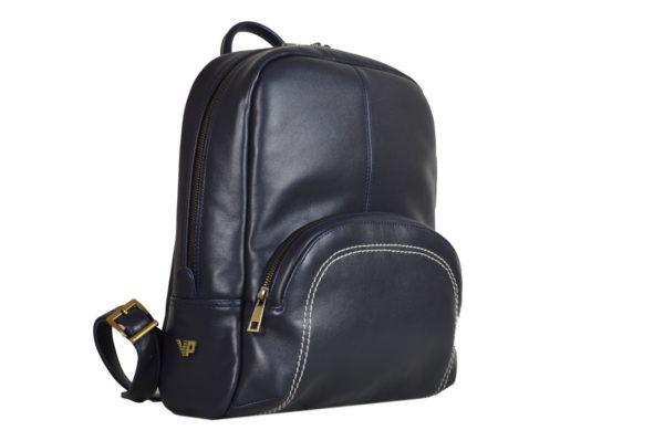 Кожаный рюкзак Viato Blue ф. 2
