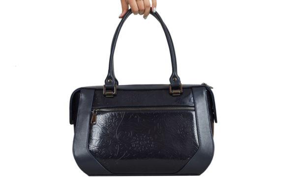 Элитная кожаная сумка yana-black, детали 3