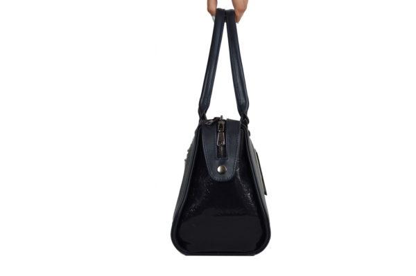 Элитная кожаная сумка yana-black, детали 2