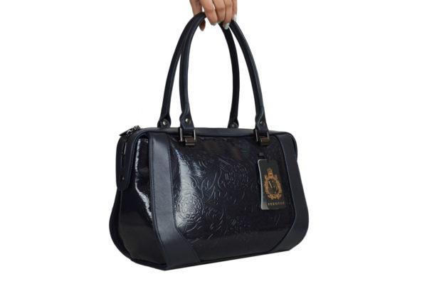 Элитная кожаная сумка yana-black, детали