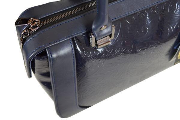 Элитная кожаная сумка yana-black, детали 4