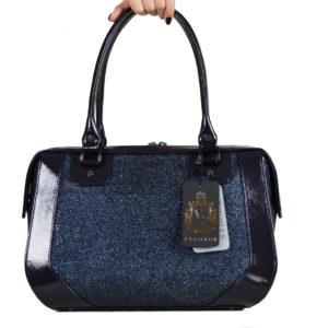 Кожаная сумка Yana Blue Pekotof ф. 1
