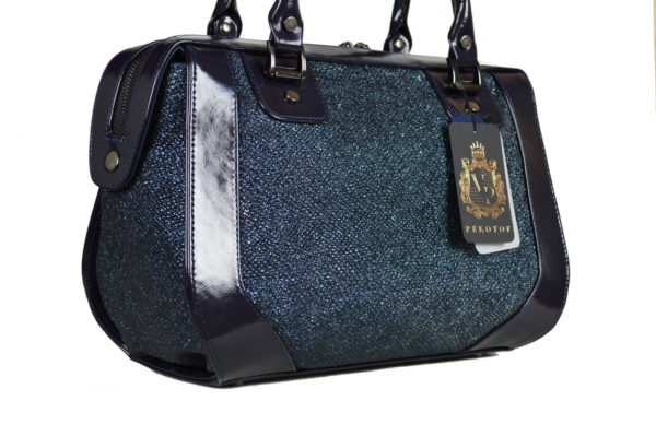 Кожаная сумка Yana Blue Pekotof ф. 2