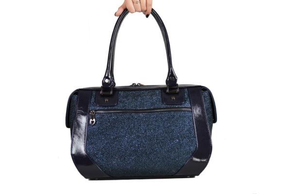 Кожаная сумка Yana Blue Pekotof ф. 4