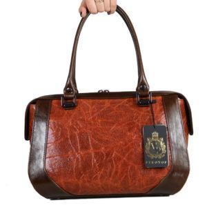Кожаная сумка Yana Ginger Pekotof ф. 1