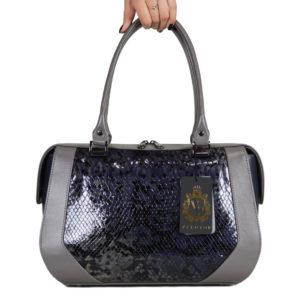 Кожаная сумка Yana Gray2 ф. 1
