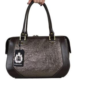 Кожаная сумка Yana Pearl Pekotof ф. 1