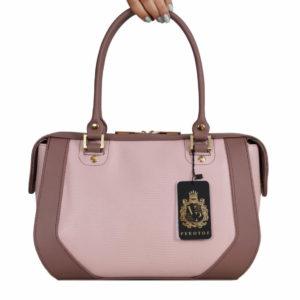 Кожаная сумка yana-pink