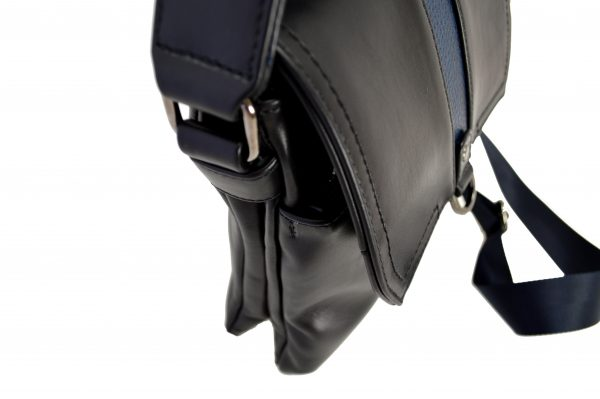 Кожаная сумка Volly Black,, деталі 2