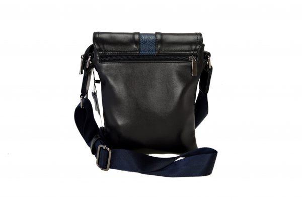 Кожаная сумка Volly Black,, деталі 1