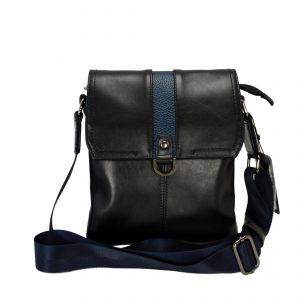 Кожаная сумка Volly Black,