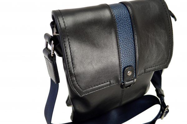 Кожаная суКожаная сумка Volly Black,, деталі 5