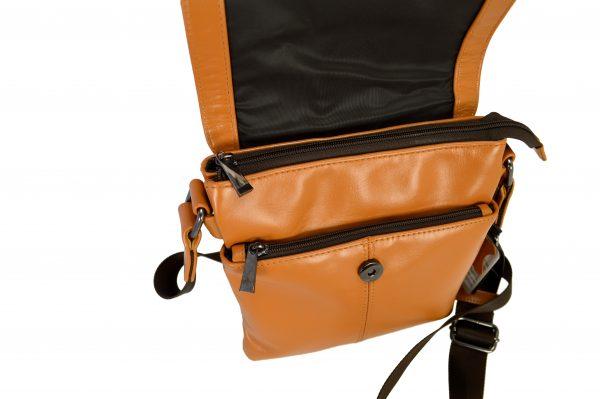 Кожаная мужская сумка Volly Ginger, детали2