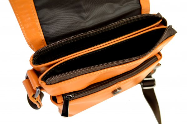 Кожаная мужская сумка Volly Ginger, детали3