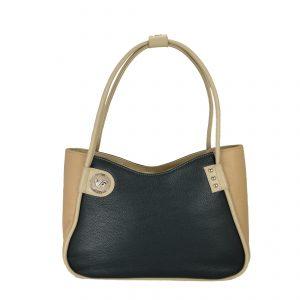 Женская кожаная сумка LIDIA Beige