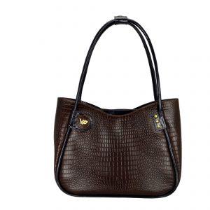 Женская кожаная сумка LIDIA Brown