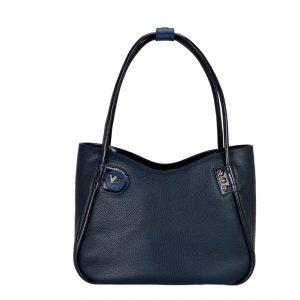 Женская кожаная сумка LIDIA Mazarine