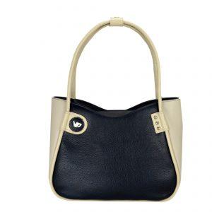 Женская кожаная сумка LIDIA Navyblue