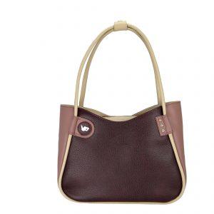 Женская кожаная сумка LIDIA Rosewood