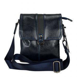 Мужская кожаная сумка volly marine, детали 5