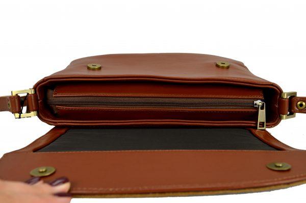 Женская сумка EMILIA Brown детали4