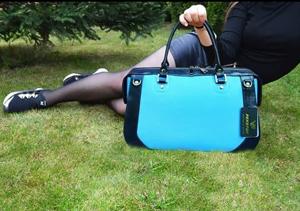 Синя сумка Yanina